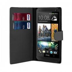 Torbica Fancy za HTC Desire 320 Črna barva