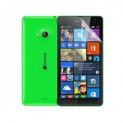 Silikon etui za Microsoft Lumia 535 TPU 0,3mm Prozorna barva