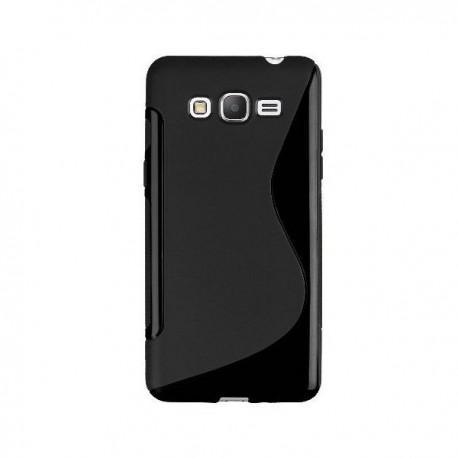 Silikon etui za Samsung Galaxy Grand Prime Črna barva