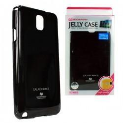 Silikon etui za Samsung Galaxy Note 3 + 2x Folija High-Quality ,Črna barva