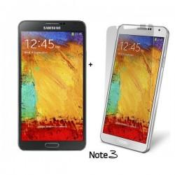 Silikon etui za Samsung Galaxy Note 3 +Folija ekrana,transparent temna