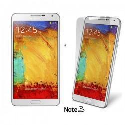 Silikon etui za Samsung Galaxy Note 3 +Folija ekrana,Prozorno bela