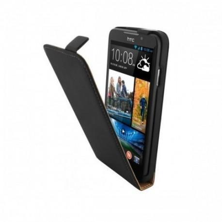 Preklopna Torbica za HTC Desire 516 Dual Sim Črna barva