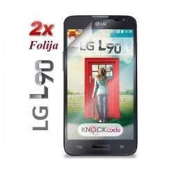 Zaščitna Folija ekrana za LG L90 , Duo pack