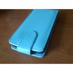 Torbica za LG L90 Preklopna+Zaščitna folija ekrana,Svetlo Modra