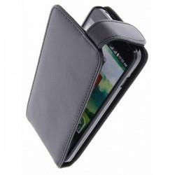 Torbica za LG L90 Preklopna+Zaščitna folija ekrana ,Črna