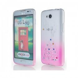Silikon etui za LG L90 +Folija ekrana Lady Pink