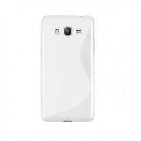 Silikon Etui za Samsung Galaxy Grand Prime Transparent barva