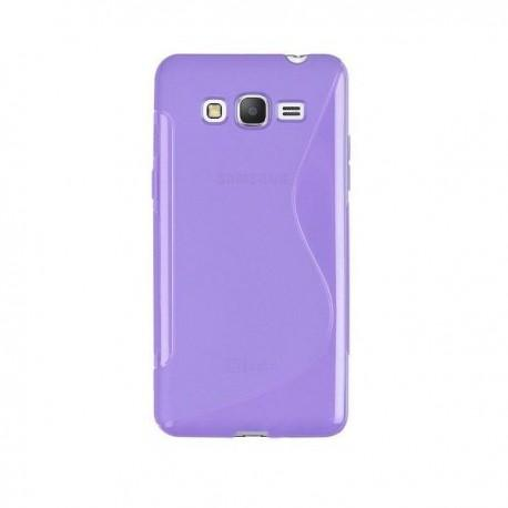 Silikon Etui za Samsung Galaxy Grand Prime Vijola barva