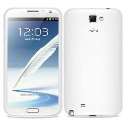 Etui za Samsung Galaxy Note II Plasma cover, Bela barva