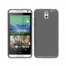 Silikon etui za HTC Desire 610 +Folija ekrana,Temna barva