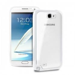 Samsung Galaxy Note II Clear Cover Bela barva