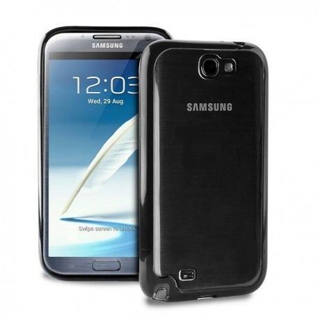 Samsung Galaxy Note II Clear Cover Črna barva
