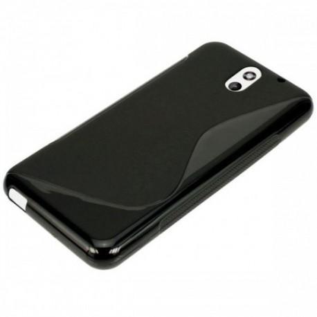 Silikon etui za HTC Desire 610 Črna barva