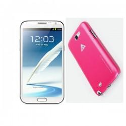 Samsung Galaxy Note II,N7100 Extra Shell Back Cover Rose Red
