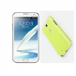 Samsung Galaxy Note II,N7100 Extra Shell Back Cover Yellow