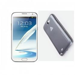 Samsung Galaxy Note II,N7100 Extra Shell Back Cover Grey