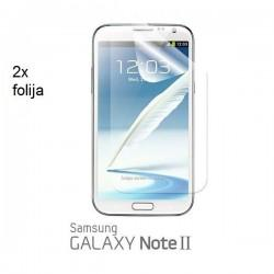 Zaščitna Folija za Samsung Galaxy Note II ,N7100 2/1