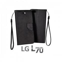 Torbica Fancy za LG L70 Črna barva