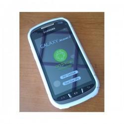 Silikon Etui za Samsung Galaxy Xcover 2 S7710 +folija, Bela barva