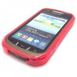 Silikon Etui za Samsung Galaxy Xcover 2 S7710 +folija, Hot Pink barva