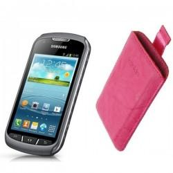 Torbica za Samsung Galaxy Xcover 2 Pull-Up, Pink barva