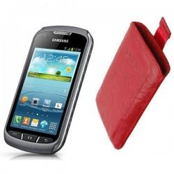 Torbica za Samsung Galaxy Xcover 2 Pull-Up, Rdeča barva