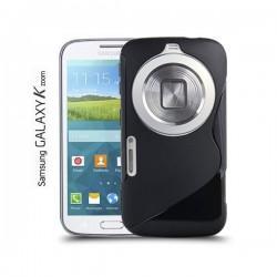 Silikon etui za Samsung Galaxy K Zoom ,Črna barva