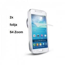 Zaščitna Folija ekrana za Samsung Galaxy S4 Zoom, Duo Pack