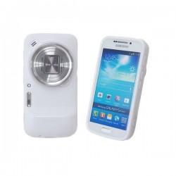 Silikon etui zaščita za Samsung Galaxy S4 Zoom ,SM-C101 ,Bela barva