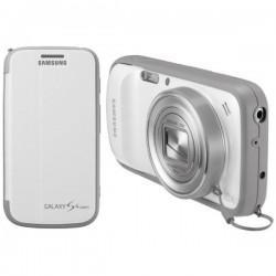 Torbica za Samsung Galaxy S4 Zoom ,SM-C101 Flip Cover+ ,Bela barva