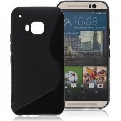 Silikon etui za HTC One M9 TPU Črna barva