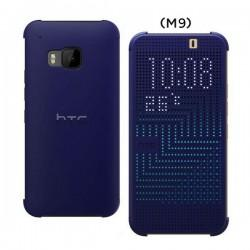 Torbica za HTC One M9 HC M231 Dot Flip Modra barva