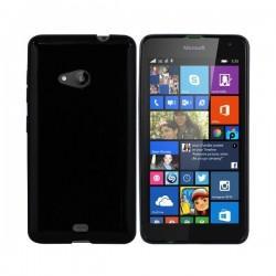 Silikon etui za Microsoft Lumia 535 TPU 0,5mm Črna barva
