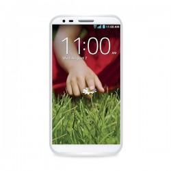 Silikon etui Jekod za LG G2 +Folija, Prozorno bela
