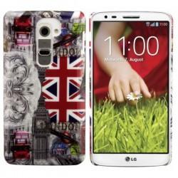 Etui za LG G2 Zadnji pokrovček UK +Folija ekrana