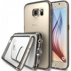 Etui za Samsung Galaxy S6 Ringke FUSION Smoke Black