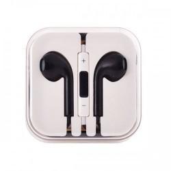 Slušalke Ušesne Earbuds Cool 3,5 mm jack Črne barve