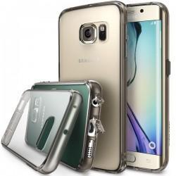 Etui za Samsung Galaxy S6 Edge Ringke FUSION Smoke Black