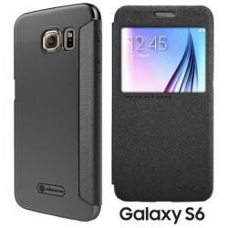 Torbica Nillkin za Samsung Galaxy S6 S-View Temno siva