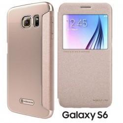 Torbica Nillkin za Samsung Galaxy S6 S-View Zlata barva