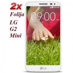 Zaščitna Folija ekrana za LG G2 Mini, Duo pack