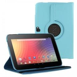Torbica za Samsung Google Nexus 10 (P8110) Vrtljiva 360 Book Cover , Modra barva