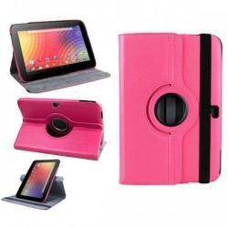 Torbica za Samsung Google Nexus 10 (P8110) Vrtljiva 360 Book Cover , Pink barva
