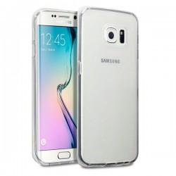 Silikon Etui za Samsung Galaxy S6 Edge Prozoren +folija
