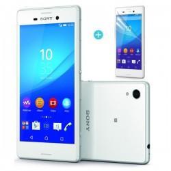 Silikon Etui za Sony Xperia M4 Aqua Prozoren +folija