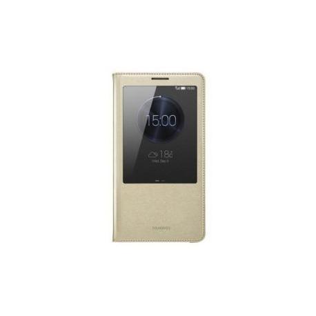 Torbica za Huawei Ascend Mate 7 Original S-View Champagne Gold