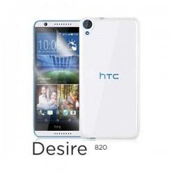 Silikon etui za HTC Desire 820 Transparent barva +folija