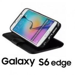 Preklopna torbica za Samsung Galaxy S6 Edge Črna barva