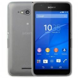 Silikonski Etui za Sony Xperia E4g Temna barva